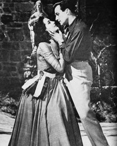 Cyd Charisse and Gene Kelly in BRIGADOON (1954) ~ I loved this movie when I was a little girl.  I used to dance with a basket and pretend to be Fiona (Cyd Charisse)  LOL