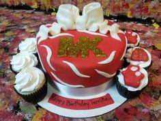MK inspired Cake