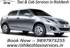 We are a leading Rishikesh Taxi Services and contribution a large fleet of cars & vehicles on rent. You can hire a car of your own selection and make your travel easier and smoother. We are consumer-focused travel agent and according to your budget, we book taxi services accommodation in your obligation. We can book luxury, deluxe, economical taxi as per the supplies of the visiting North India.