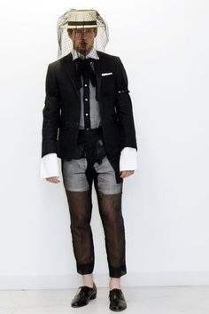 Thom Browne Spring 2007 Menswear Fashion Show Collection