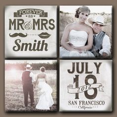 Customized Multiple Wedding Canvases with Date by DesignerCanvases Scrapbook Designs, Scrapbook Page Layouts, Scrapbook Albums, Scrapbook Cards, Wedding Scrapbook Pages, Bridal Shower Scrapbook, Wedding Album, Wedding Book, Wedding Photos