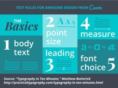 There's one thing that most designs have in common: text. We'll help you get it right.