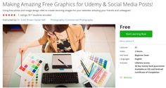 Making Amazing Free Graphics for Udemy & Social Media Posts! http://ift.tt/1Joxsdt  #udemy #coupon #discount