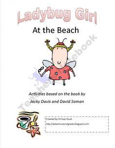 Everyday-Adventures Shop -Ladybug Girl at the Beach   | Teachers Notebook