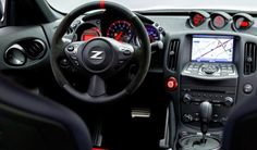 2015 Nissan 370Z Nismo dashboard interior 600x351 2015 Nissan 370Z Nismo Release and Reviews