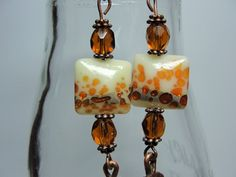 Madeira Earrings by ChickieJanesJewelry on Etsy