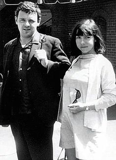 Hopkins with his first wife Petronella