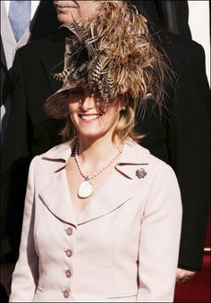 November 19, 2005 - Sophie, Countess Of Wessex at the enthronement of Albert of Monaco