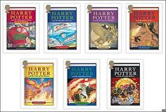 Harry Potter ,Uk Canada Us Special Collector Edition, 7 Hardcover Books, J. Rowling Set,: Everything Else Good Books, Books To Read, My Books, Harry Potter Book Covers, Harry Potter Collection, Book Authors, Have Time, Book Lovers, Book Worms