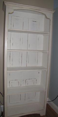 Old door now a book shelf