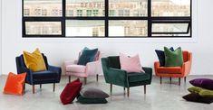 Lucca Balsam Green Pillow Set - Pillows   Modern, Mid-Century and Scandinavian Furniture