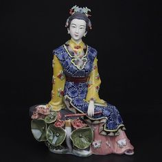 Aliexpress.com : Buy New Sale Christmas Porcelain Antique Painted Ceramic Art Collectible Figurine Manual Statue Angel Chinese…