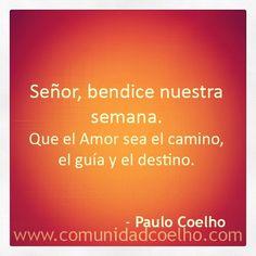 La bendición de @Paulo Coelho - www.comunidadcoelho.com | #bendición #bendiciones #camino #libertad #love #loveit #paulocoelho #coelho #comunidadcoelho #coelhoquote #instacoelho #igpaulocoelho #igerscoelho #igers #igers #instaquote #quote #cita #quoteoftheday