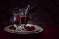 """Vodka Blood Jelly"" - lightjet photograph by Jonathan Cameron"