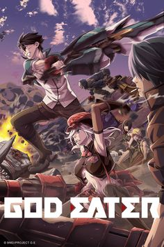 "Crunchyroll - Crunchyroll to Stream ""God Eater"" Anime"