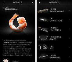 Sooshi, una aplicación para iPhone con información sobre Sushi