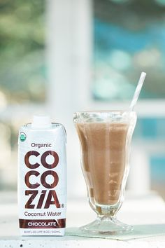 Cocozia Chocolate Coconut Water Smoothie