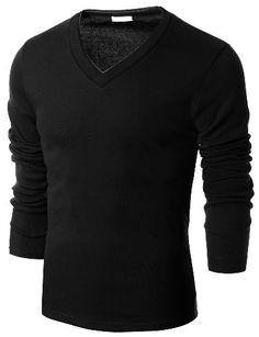 TOPSELLER! Doublju Mens V-Neck Sweater Pull-over... $12.99