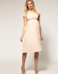 Lovely white maternity dress