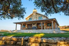River Hill Ranch Heritage Restorations Texas Stone Style House Plans Side Home Post And Beam Custom D. All About House and Floor Plans ~ Texas Stone Ranch Style House Plans Texas House Plans, Ranch House Plans, Dream House Plans, Texas Houses, Modern Prefab Homes, Modular Homes, Metal Building Homes, Building A House, Build House