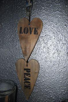 hout met liefde