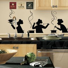 Wall Sticker CHEFS by Sticky!!!