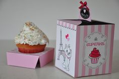 Hey, I found this really awesome Etsy listing at https://www.etsy.com/listing/186215700/paris-party-pdf-printable-cupcake-box