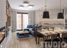 mieszkanie-luk-projekt - zdjęcie od MIKOŁAJSKAstudio - Salon - Styl Skandynawski - MIKOŁAJSKAstudio