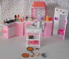 Vintage Barbie Kitchen Lot  #teamsellit
