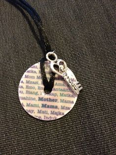 Washer necklace, book pendents, and tree of life - JEWELRY AND TRINKETS