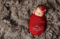 "These gorgeous super stretchy ruffle wraps are easy to use and can be completely swaddled around newborn babies for the perfect first photo! They measure approximately 48"" x 12"" unstretched. Includes"