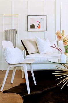 Creative Capacities  - We Styled A Couch In 3 VERY Different Ways - Photos