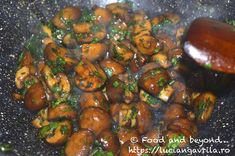 Ciuperci Teriyaki Meatless Recipes, Asian Style, Sprouts, Vegetables, Food, Eten, Brussels Sprouts, Meals, Cabbages