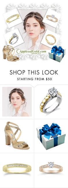 """ApplesofGold.com"" by airin-flowers ❤ liked on Polyvore featuring Jimmy Choo, Thos. Baker and applesofgold"