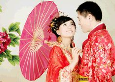 Chinese wedding dresses | Chinese Wedding Traditions, Door Games and Dressing Code in Beijing