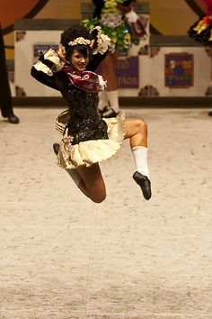 Glasgow, Scotland - Irish Dance World Championships.- Final step from the 2010 Senior Ladies Champion. Beautiful Dancer! #irishdance