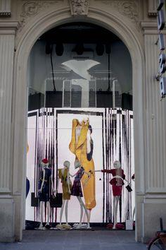 Luisa Via Roma window