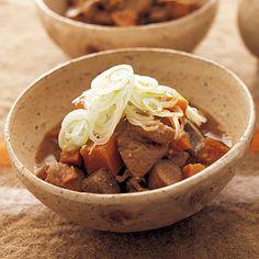 こっくりモツ煮込み | 藤井恵さんのおつまみの料理レシピ | プロの簡単料理レシピはレタスクラブニュース
