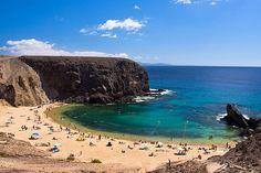 Playa Papagayo. Lanzarote.