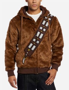 *consider wearing sparingly until in an established relationship - Chewbacca Hoodie