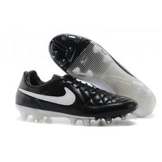 premium selection 1e1a2 c07ff Cheap Nike Tiempo Legend V FG Black White Nike Soccer Shoes, Soccer Boots,  Soccer