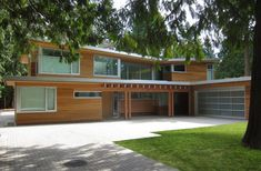 Kevin Vallely Design have completed the Butterfly House in Vancouver, Canada.