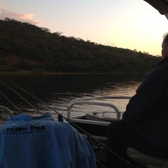 Shooting some footage for Roam Free, unbelievable fishing from this pontoon. Up soon for JHB waters.
