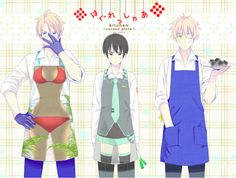 Aprons......America what are you Nevermind. I want Japan's apron!