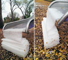 sneeuwijs4/ folded snow