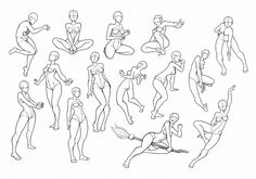 You can use these postures! But If you use this ref - put the link!!! on my DA or this art! Please. Thanks part01&part02&part03&part05: