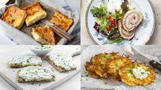 10 jedinečných pochúťok z májovej bryndze   Recepty.sk Salmon Burgers, Pizza, Meat, Chicken, Healthy, Ethnic Recipes, Food, Anna, Tips