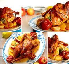 O Fado e uma receita de frango assado no forno com maçãs