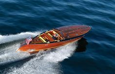 Another view of the Stancraft Torpedo. These are current models with lots of horsepower, and the company has a wonderful history. Check them out: http://www.stancraftboats.com/