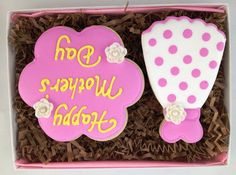 Polkadot Couture Cookie Card